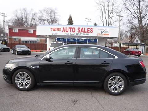 used 2010 ford taurus for sale in detroit mi. Black Bedroom Furniture Sets. Home Design Ideas