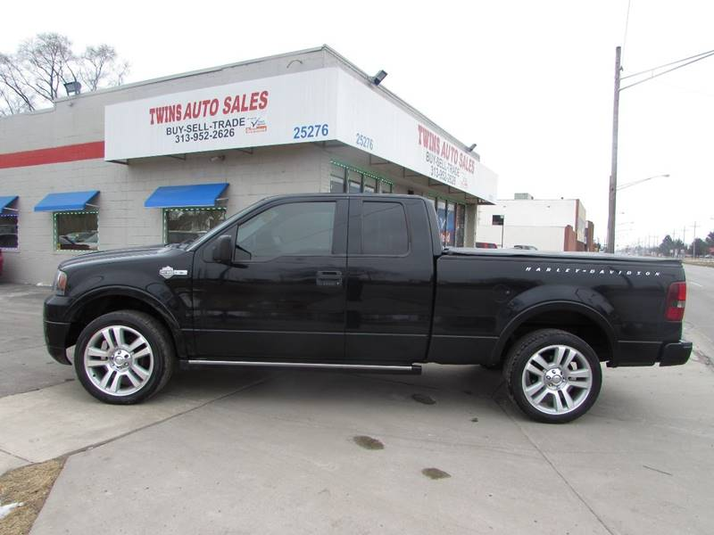 2006 ford f-150 harley-davidson in detroit mi - twins auto sales inc