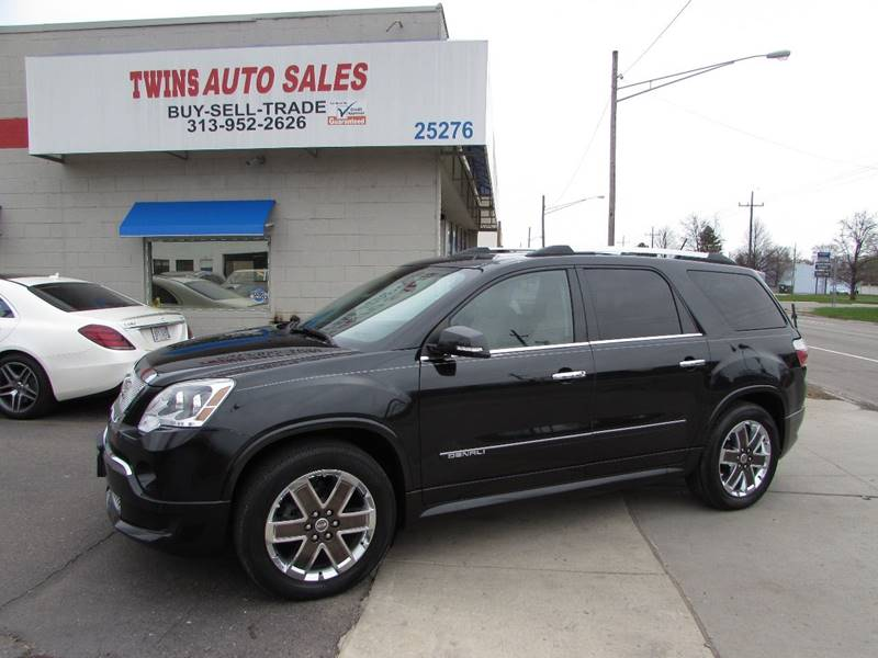 introduction sale denali show gmc l acadia image feb for auto chicago