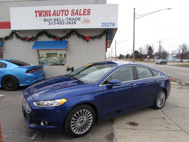 2016 Ford Fusion Titanium In Detroit Mi Twins Auto Sales Inc