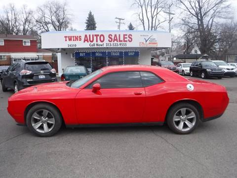 2015 Dodge Challenger for sale in Detroit, MI