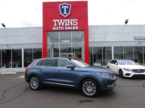 2018 Lincoln MKX for sale at Twins Auto Sales Inc Redford 1 in Redford MI