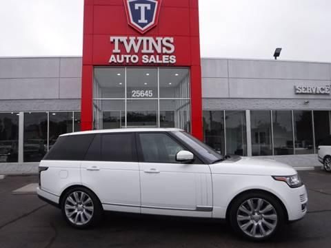 2016 Land Rover Range Rover for sale in Detroit, MI