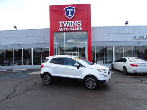 2018 Ford EcoSport for sale at Twins Auto Sales Inc Redford 1 in Redford MI