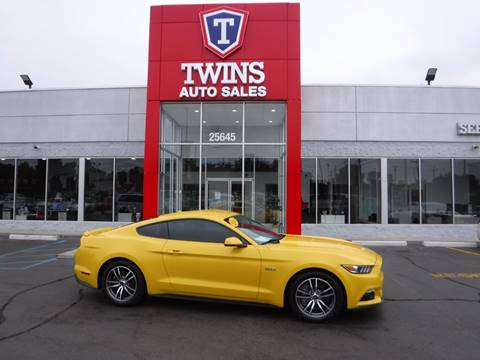 2015 Ford Mustang for sale in Redford, MI