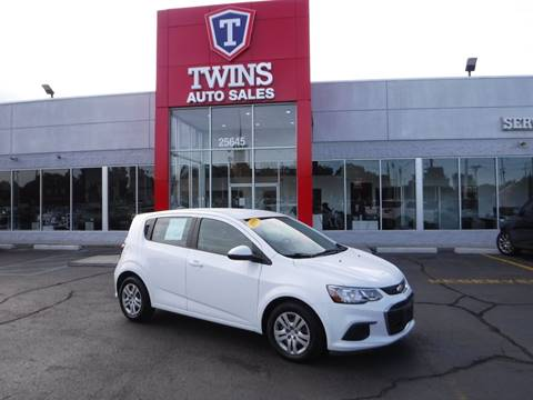 2017 Chevrolet Sonic for sale at Twins Auto Sales Inc - Detroit in Detroit MI