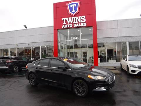 2018 Ford Fusion for sale in Redford, MI