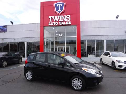 2014 Nissan Versa Note for sale at Twins Auto Sales Inc Redford 1 in Redford MI