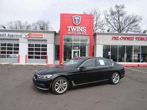 2017 BMW 7 Series for sale at Twins Auto Sales Inc - Detroit in Detroit MI