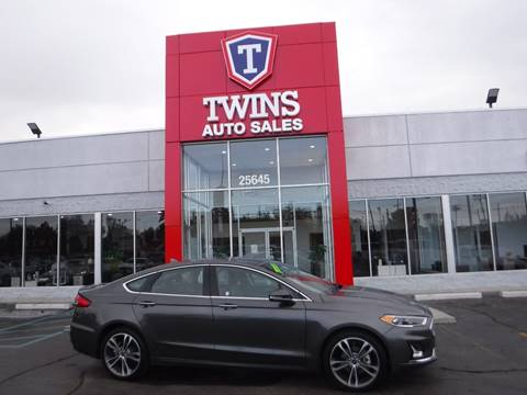2019 Ford Fusion for sale at Twins Auto Sales Inc Redford 1 in Redford MI