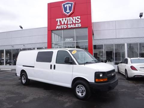2012 Chevrolet Express Cargo for sale at Twins Auto Sales Inc Redford 1 in Redford MI