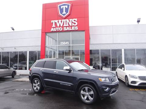2016 Jeep Grand Cherokee for sale at Twins Auto Sales Inc Redford 1 in Redford MI