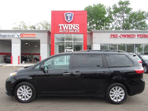 2015 Toyota Sienna for sale at Twins Auto Sales Inc - Detroit in Detroit MI