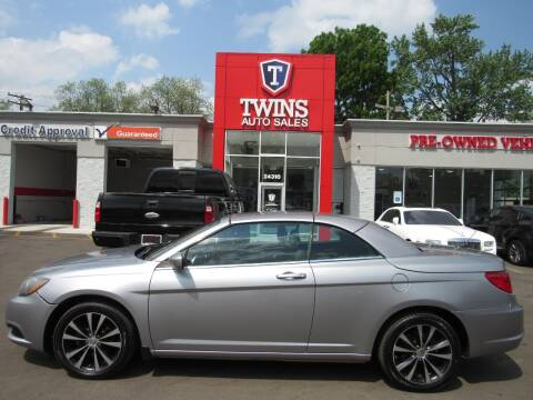 2014 Chrysler 200 Convertible for sale at Twins Auto Sales Inc - Detroit in Detroit MI