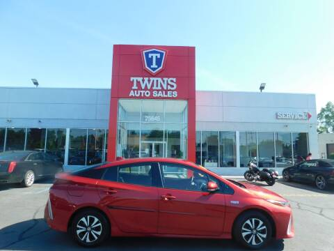 2017 Toyota Prius Prime for sale at Twins Auto Sales Inc Redford 1 in Redford MI
