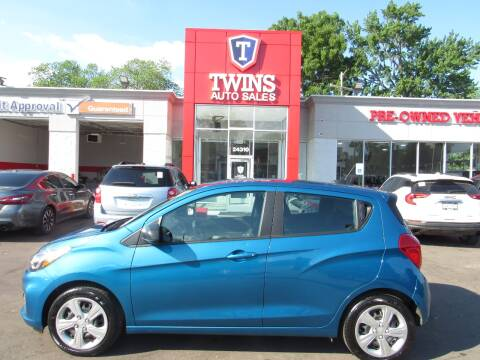 2020 Chevrolet Spark for sale at Twins Auto Sales Inc - Detroit in Detroit MI