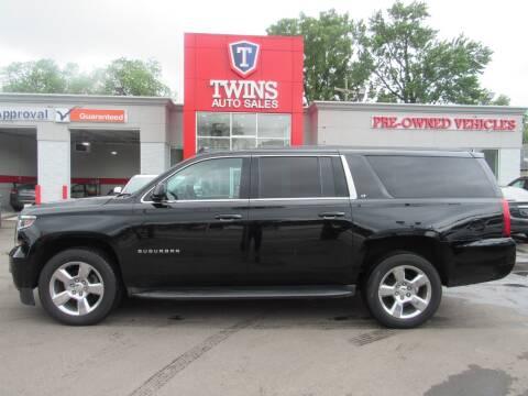 2017 Chevrolet Suburban for sale at Twins Auto Sales Inc - Detroit in Detroit MI