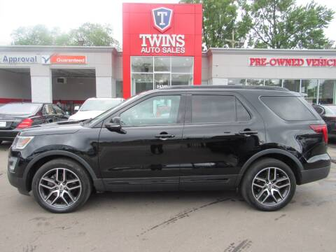 2017 Ford Explorer for sale at Twins Auto Sales Inc - Detroit in Detroit MI