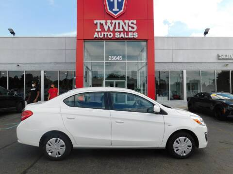 2019 Mitsubishi Mirage G4 for sale at Twins Auto Sales Inc Redford 1 in Redford MI