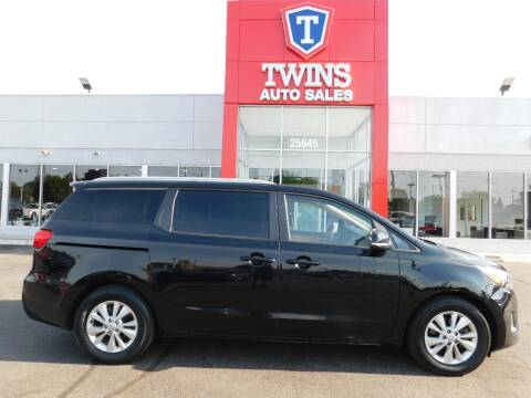 2016 Kia Sedona for sale at Twins Auto Sales Inc Redford 1 in Redford MI