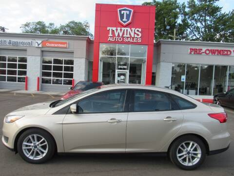 2017 Ford Focus for sale at Twins Auto Sales Inc - Detroit in Detroit MI