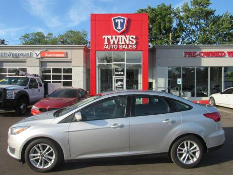 2018 Ford Focus for sale at Twins Auto Sales Inc - Detroit in Detroit MI
