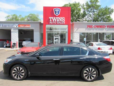 2014 Honda Accord Hybrid for sale at Twins Auto Sales Inc - Detroit in Detroit MI