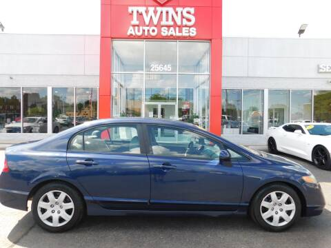 2008 Honda Civic for sale at Twins Auto Sales Inc Redford 1 in Redford MI