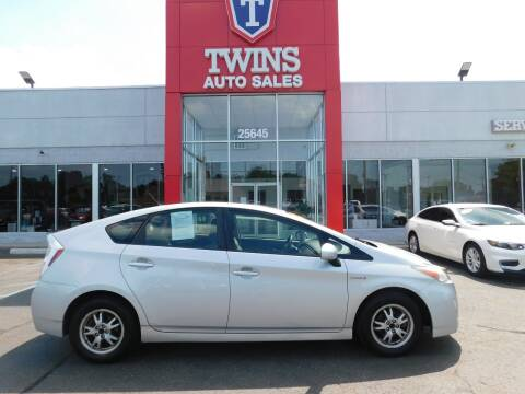 2010 Toyota Prius for sale at Twins Auto Sales Inc Redford 1 in Redford MI