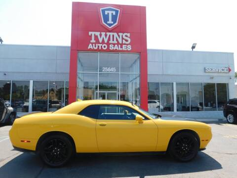 2018 Dodge Challenger for sale at Twins Auto Sales Inc Redford 1 in Redford MI
