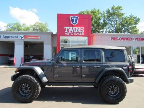 2020 Jeep Wrangler Unlimited for sale at Twins Auto Sales Inc - Detroit in Detroit MI