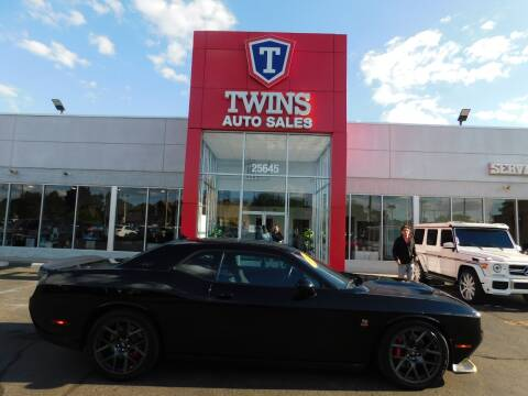 2019 Dodge Challenger for sale at Twins Auto Sales Inc Redford 1 in Redford MI