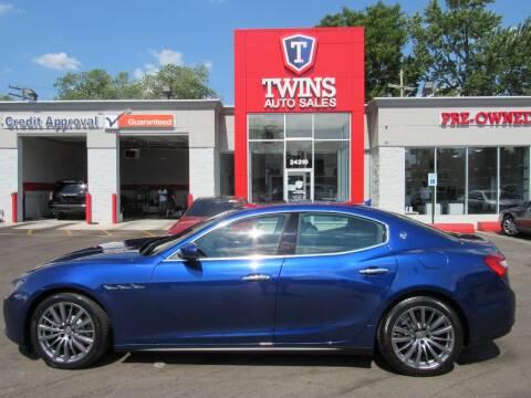 2017 Maserati Ghibli for sale at Twins Auto Sales Inc - Detroit in Detroit MI