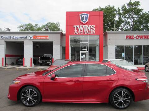 2019 Toyota Camry for sale at Twins Auto Sales Inc - Detroit in Detroit MI