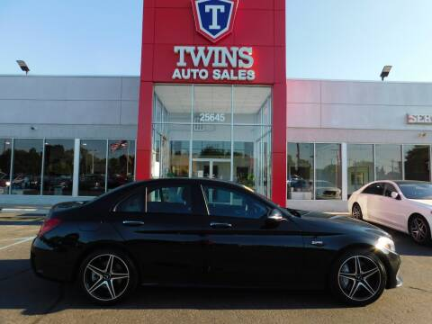 2017 Mercedes-Benz C-Class for sale at Twins Auto Sales Inc Redford 1 in Redford MI