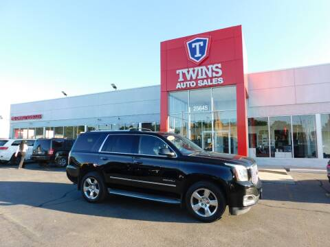 2015 GMC Yukon for sale at Twins Auto Sales Inc Redford 1 in Redford MI