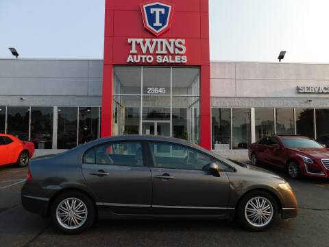2010 Honda Civic for sale at Twins Auto Sales Inc Redford 1 in Redford MI