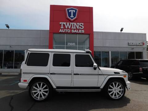 2004 Mercedes-Benz G-Class for sale at Twins Auto Sales Inc Redford 1 in Redford MI