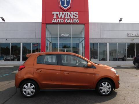 2019 Mitsubishi Mirage for sale at Twins Auto Sales Inc Redford 1 in Redford MI