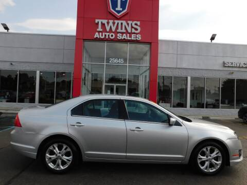 2012 Ford Fusion for sale at Twins Auto Sales Inc Redford 1 in Redford MI