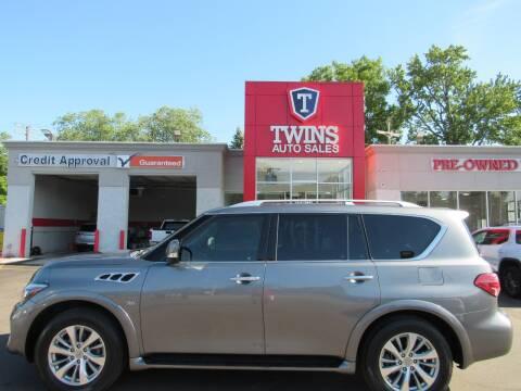 2017 Infiniti QX80 for sale at Twins Auto Sales Inc - Detroit in Detroit MI