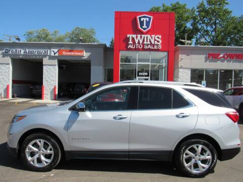 2018 Chevrolet Equinox for sale at Twins Auto Sales Inc - Detroit in Detroit MI