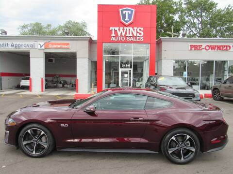 2018 Ford Mustang for sale at Twins Auto Sales Inc - Detroit in Detroit MI