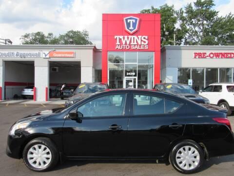 2019 Nissan Versa for sale at Twins Auto Sales Inc - Detroit in Detroit MI