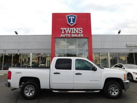 2013 Chevrolet Silverado 1500 for sale at Twins Auto Sales Inc Redford 1 in Redford MI