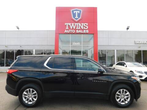 2020 Chevrolet Traverse for sale at Twins Auto Sales Inc Redford 1 in Redford MI