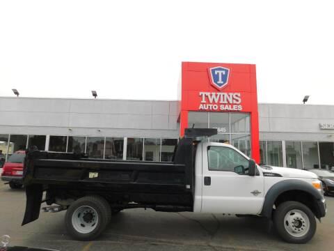 2012 Ford F-550 Super Duty for sale at Twins Auto Sales Inc Redford 1 in Redford MI