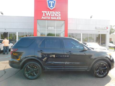 2013 Ford Explorer for sale at Twins Auto Sales Inc Redford 1 in Redford MI