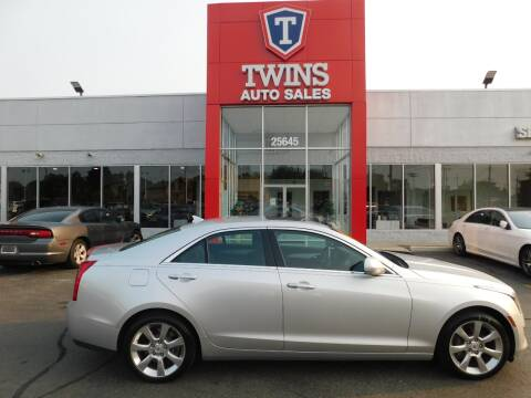 2014 Cadillac ATS for sale at Twins Auto Sales Inc Redford 1 in Redford MI