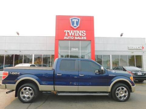 2010 Ford F-150 for sale at Twins Auto Sales Inc Redford 1 in Redford MI